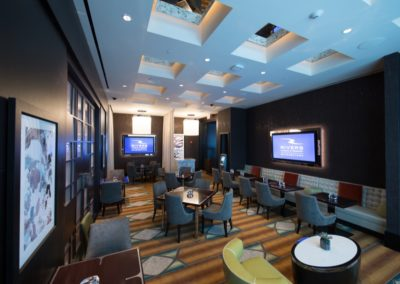 Architecture Rivers Casino Schenectady VIP Lounge