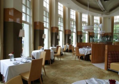 Aureole Architecture Dining