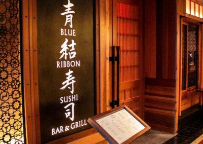 Blue Ribbon Architecture Entrance