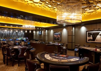 Hard Rock Las Vegas Architecture Limit Lounge