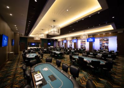 Rivers Casino Schenectady Black Jack Table Room Architecture