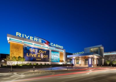 Rivers Casinos Architects Schenectady Entrance