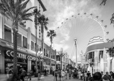 The LINQ Architects Retail BW