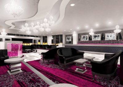 Palms Ghost Bar Architecture Interior Design