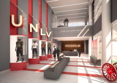 UNLV Fertitta Architect