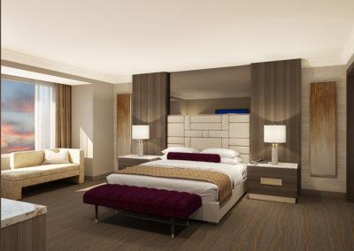 Pala 2-bay suite bedroom