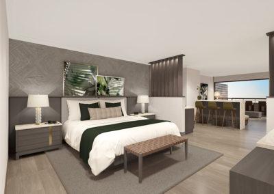 Pala Balcony Suite Bedroom