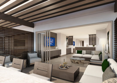 Pala Balcony Suite Living Rm