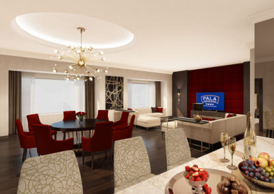 Pala Presidetial Suite 2 Living Rm