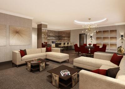 Presidetial Suite 2 Living Rm